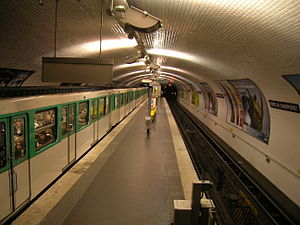 Porte de Champerret (Paris Métro) - Image: Metro 3 Porte de Champerret