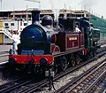 Metropolitan Railway 0-4-4T Amersham Metro Steam Day 1990.jpg