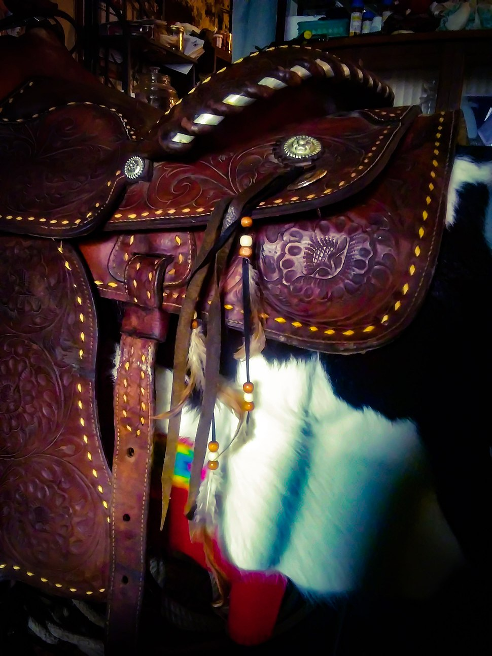 Mexican Show Saddle