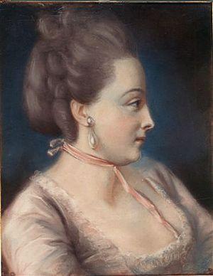Michelle de Bonneuil - Portrait of Michelle de Bonneuil by Rosalie Filleul