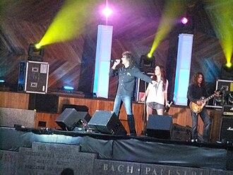 Mickey Thomas (singer) - Performance in Boston touring as Starship featuring Mickey Thomas, on June 16, 2012