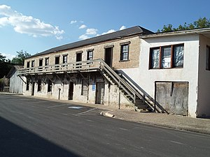 National Register of Historic Places listings in Starr County, Texas - Image: Mifflin Kenedy Warehouse and Old Starr County Courthouse 2012 09 24 22 52 35
