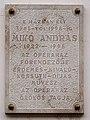 Mikó András emléktáblája - Budapest, Úri u. 44-46.jpg