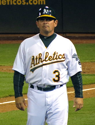 Mike Gallego - Gallego with the Oakland Athletics