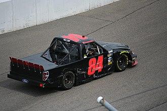 Mike Harmon - Harmon at Rockingham Speedway in 2013