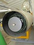 Mikoyan MiG-21PFM radar at Luftfahrtmuseum Wernigerode (cropped).jpg