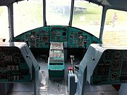 Mil Mi-26 Russian helicopter cockpit