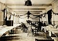 Military Hospital V.R. 76, Ris-Orangis, France; a ward, deco Wellcome V0029380.jpg