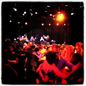 Milonga (place) - Milonga with live music
