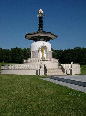 Willen - Image: Milton keynes peace pagoda