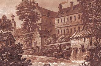 Milton of Campsie - Image: Milton mcdowall mills