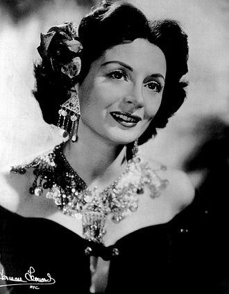 Mimi Benzell - Image: Mimi Benzell 1956