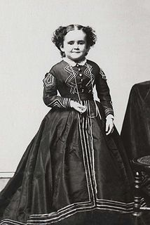 Minnie Warren American entertainer (1849-1878)