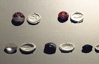 Minoan sealstone - Image: Minoische Siegel
