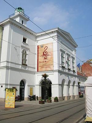 Miskolc national theatre new
