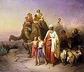 Molnár Ábrahám kiköltözése 1850.jpg