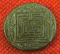 Monetiere di fi, moneta romana repubblicana con labirinto 03.JPG