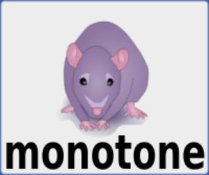 Monotone (software) - Image: Monotone logo