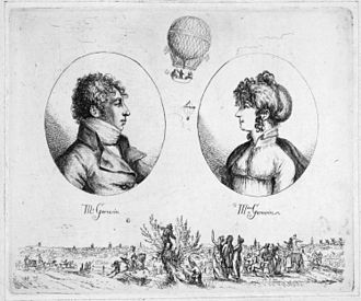André-Jacques Garnerin - Monsieur and Madame Garnerin (Christoph Haller von Hallerstein, c. 1803)