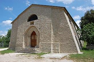 Montagano - Abbey of Santa Maria di Faifoli.