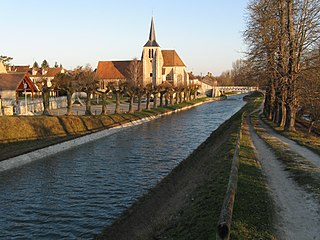canal in France