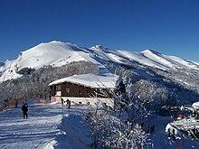 Il Monte Gomito nella Riserva naturale Abetone nel comune di Abetone Cutigliano