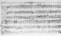 Manuscrit de la partitura original