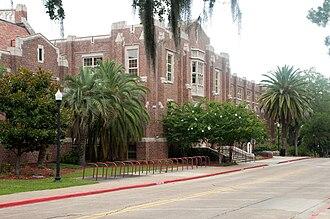 Florida State University College of Fine Arts - Image: Montgomery Hall FSU