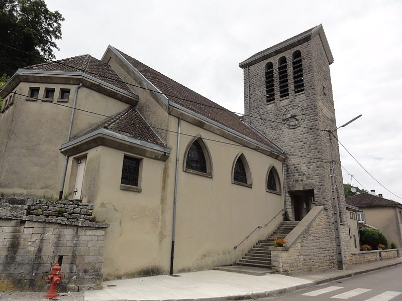 Montplonne (Meuse) église churches in Meuse