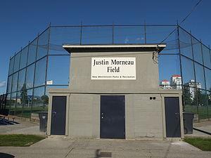 Justin Morneau - Image: Moody Park Justin Morneau Field