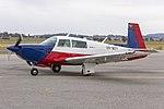 Mooney M20K 231 (VH-MZY) taxiing at Wagga Wagga Airport.jpg
