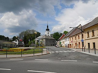 Moravský Beroun Town in Olomouc, Czech Republic