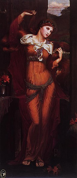 Spencer Stanhope, Morgan Le Fay, 1880, Wikimedia Commons