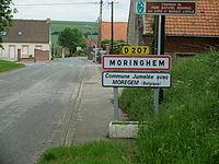 Moringhem - Entrée.JPG