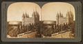 Mormon Temple and Tabernacle, Salt Lake City, Utah, from Robert N. Dennis collection of stereoscopic views.png