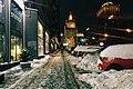 Moscow, Smolenskaya Street on a winter evening (24729307980).jpg