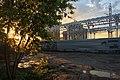 Moscow, construction of Botanichesky Sad MCC platform (31388277455).jpg