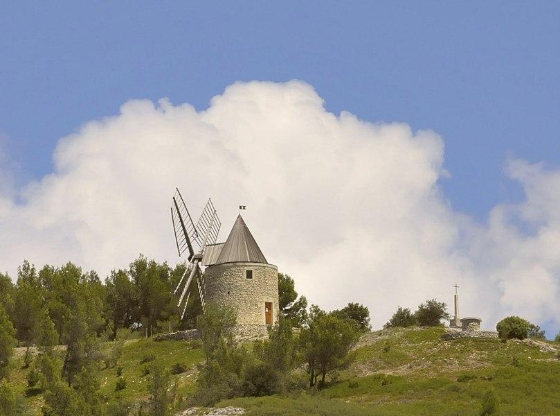 Mühle von Boulbon