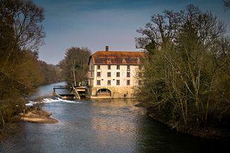 Bliesmühle near Saargemünd