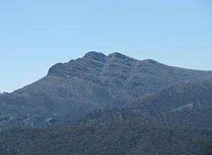 Mount Cobbler - Mount Cobbler viewed from Mount Stirling