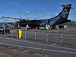 Mount Cook Airline ATR 72-600 at Rotorua Airport.jpg
