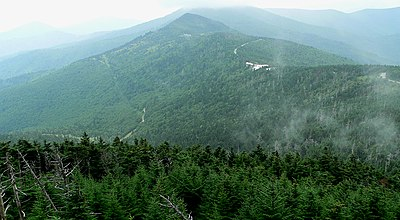 At 6,684 feet (2,037 m), Mount Mitchell is the highest point in the Appalachians.