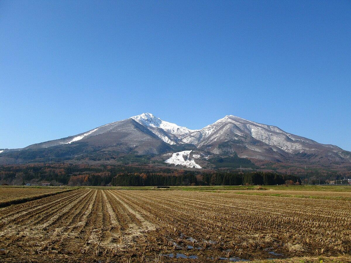 Mount Bandai - Wikipedia