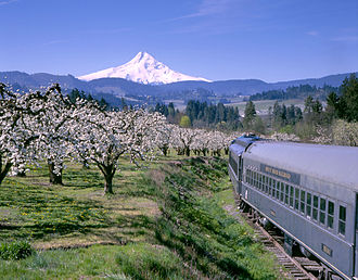 Hood River County, Oregon - Mount Hood Railroad