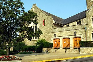 Mt. Lebanon Township, Allegheny County, Pennsylvania - Mt Lebanon United Methodist Church