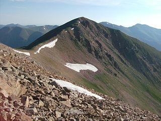 Mount Sniktau mountain in United States of America