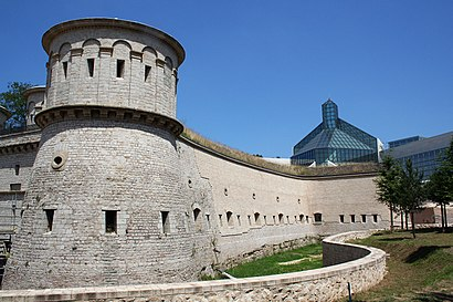How to get to Fort Thüngen with public transit - About the place