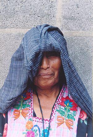 Demographics of Oaxaca - Popoloca woman
