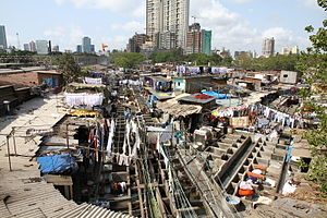 Dhobi Ghat - Mumbai Dhobi Ghat Laundry District
