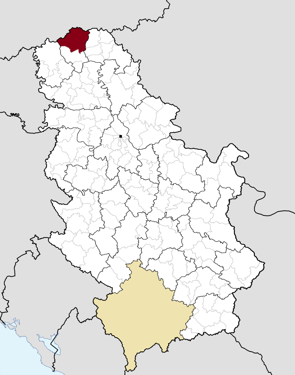 Municipalities of Serbia Subotica